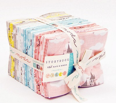 Storybook 33 Fat Quarter Bundle by Kate & Birdie for Moda