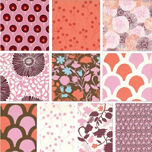 Sugar Pop 9 Fat Quarter Set by Moda