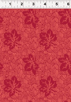Summerland Y1474-4 Red Leaves by Clothworks