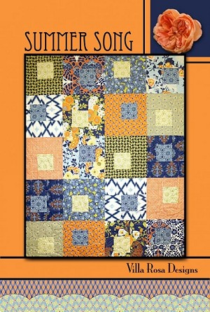 Summer Song Quilt Pattern by Villa Rosa Designs