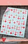 Tea Party Quilt Pattern by Cluck Cluck Sew