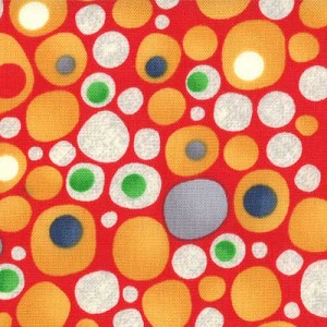 Ten Little Things 30504-11 Red Tweed Dots by Moda