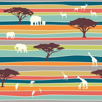 Serengeti Organic SG-02 The Plains Stripe by Jay-Cyn for Birch