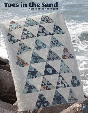Toes in the Sand Block of the Month Quilt Pattern