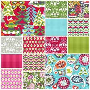 Treelicious 14 Fat Quarter Set by Maude Asbury for Blend