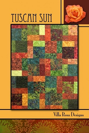 Tuscan Sun Quilt Pattern by Villa Rosa Designs
