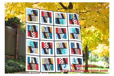 Window View Quilt Pattern by Lunden Designs
