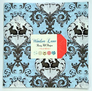Windsor Lane Layer Cake in Blue by Bunny Hill for Moda