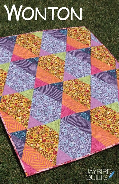 Wonton Quilt Pattern by Jaybird Quilts