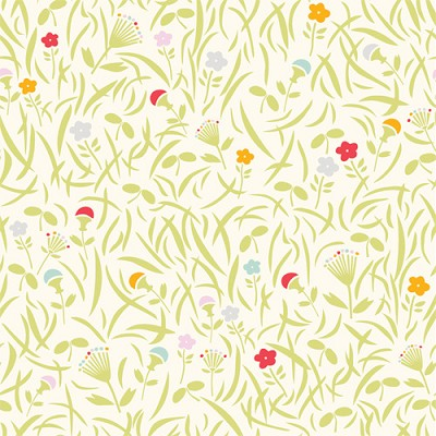 Yay Day Organic EI-07 Grassy Meadow by Emily Isabella for Birch