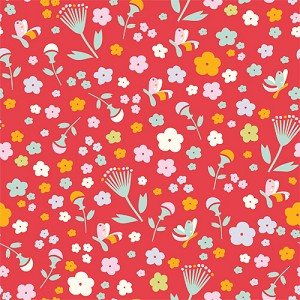 Yay Day Organic EI-08 Pretty Floral by Emily Isabella for Birch