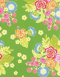 Sanibel 10030-18 Seagrass Hibiscus by Gina Martin for Moda