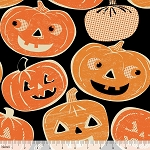 Spooktacular Eve 101.107.01.1 Black Pumpkintopia by Blend