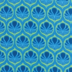 Fancy 11492-13 Sky Blue Coco by Lily Ashbury for Moda EOB