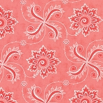 Fancy 11493-18 Winterberry Pink Twirl by Lily Ashbury for Moda