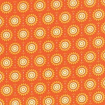 Fancy 11495-19 Orange Spice Sunny by Lily Ashbury for Moda
