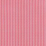 Ambleside 18607-19 Rosy Red Ric Rac Stripe by Moda