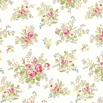 Windermere 18610-11 Linen White Garden Cuttings by Moda