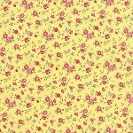 Windermere 18611-12 Soft Yellow Songbird by Brenda Riddle for Moda