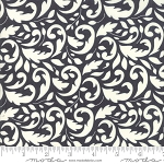 All Hallows Eve 20351-13 Midnight Flourish by Fig Tree for Moda