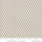 All Hallows Eve 20353-15 Fog Zigzag by Fig Tree for Moda