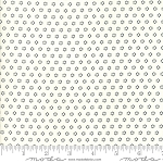 All Hallows Eve 20354-27 Ghost Midnight Polka Dot Circles by Moda