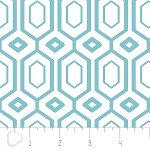 Cove 2141401-1 Tide Hexagons by Camelot Fabrics