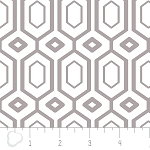 Cove 2141401-2 Zinc Hexagons by Camelot Fabrics