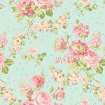 Romance 2280-26 Seafoam Romance by E. Vive for Benartex EOB