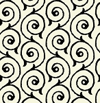 Sew Scary 23863-E Ecru Swirl by Quilting Treasures