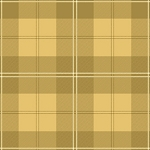 A Christmas Story 23914-S Gold Plaid by Quilting Treasures EOB