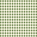 With All My Heart 24804 Green Houndstooth by Red Rooster EOB
