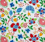 Sundborn Garden 25025 Multi Main Floral by Red Rooster
