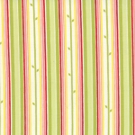 Chantilly 25077-12 Poppy Field Stem Stripe by Moda