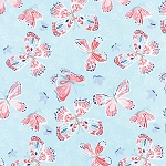 Aria 27230-12 Sky Butterfly by Kate Spain for Moda EOB