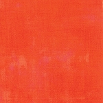 Grunge Basics 30150-263 Tangerine by Basic Grey for Moda