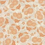 Persimmon 30381-11 Marshmallow Pumpkin Pecan Pie by Moda