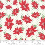Sweet Christmas 31151-11 Marzipan Poinsettia by Urban Chiks for Moda