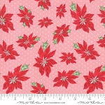 Sweet Christmas 31151-13 Buttermint Poinsettia by Urban Chiks for Moda