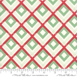 Sweet Christmas 31153-11 Spearmint Plaid Scarf by Urban Chiks for Moda