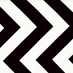 Half Moon Modern 32349-12 Black Big Zig Zag by Moda EOB