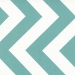 Half Moon Modern 32349-22 Aqua Big Zig Zag by Moda
