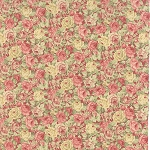 Roses & Chocolate 32922-12 Rose Packed Floral by Moda EOB