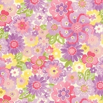 Colette 33052-13 Violet Blossom by Chez Moi for Moda