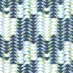 Tucker Prairie 36002-11 Stormy Flock by One Canoe Two for Moda