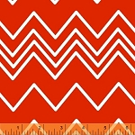 Ziggy 36536-1 Tomato Chevron by French Bull for Windham