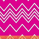 Ziggy 36536-5 Pink Chevron by French Bull for Windham