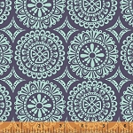 Garden Party Tango 38896-2 Navy Medallions by Windham