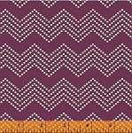Mosaica 39562-1 Purple Chevron by French Bull for Windham