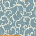 Ibiza 40058-5 Blue Scroll by Rosemarie Lavin for Windham EOB